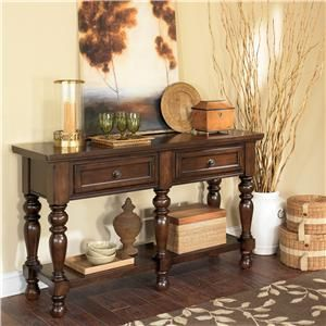 Porter House 5 Leg Server By Ashley Furniture At Furniture And