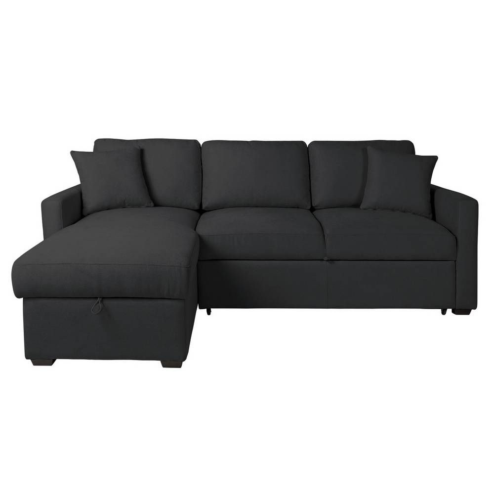 Buy Argos Home Reagan Left Corner Fabric Sofa Bed Charcoal Sofa Beds Argos Fabric Sofa Bed Fabric Sofa Charcoal Sofa