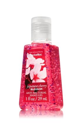 Japanese Cherry Blossom Pocketbac Sanitizing Hand Gel Anti