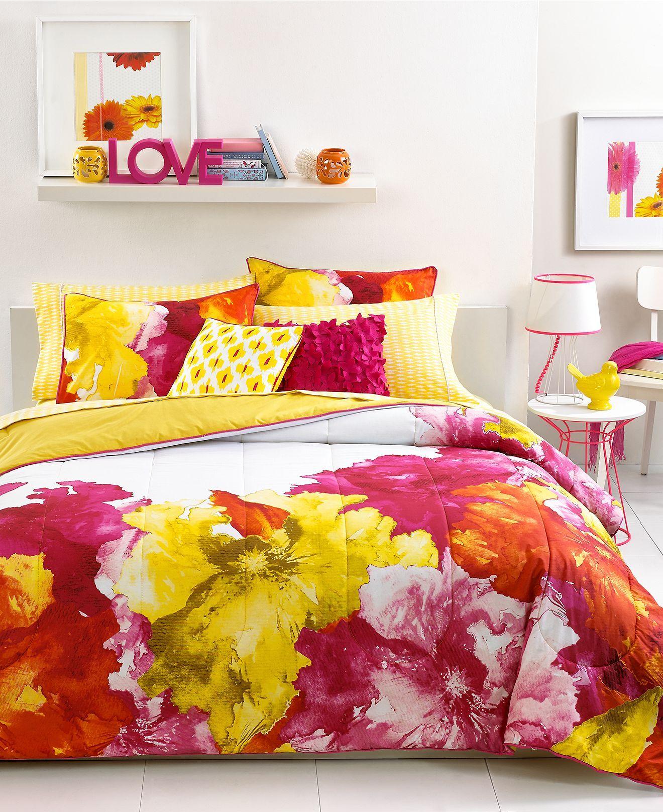 Seventeen Bedroom Seventeen Silvana Sunset Comforter Sets Under The Sunset Hot