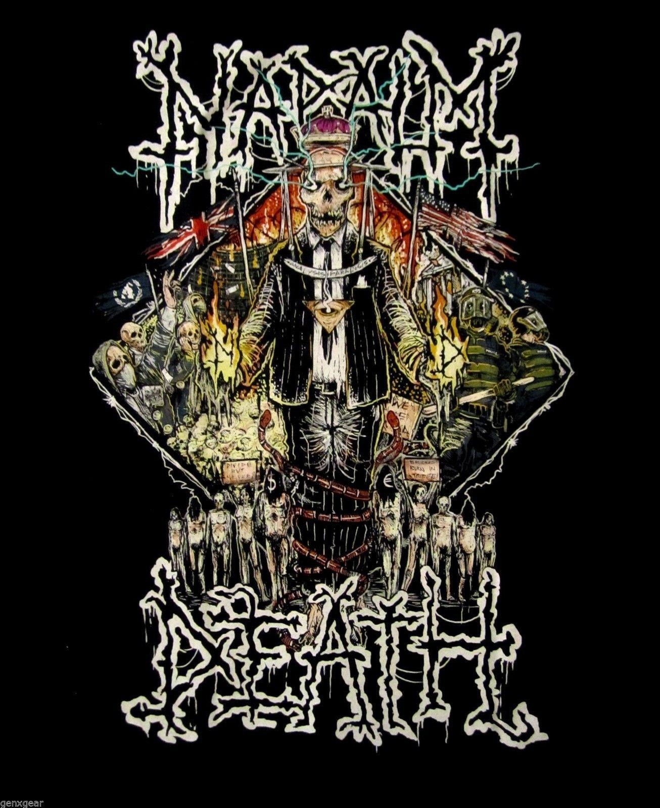 Design t shirt artwork - Napalm Death New Shirt Design