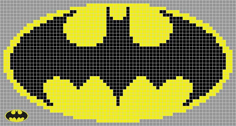 знак бэтмена в майнкрафт картинки семян