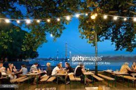 Image result for german beer garden lights