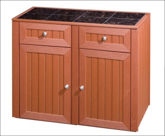 outdoor kitchen cabinet server with two doors two drawers rh pinterest com