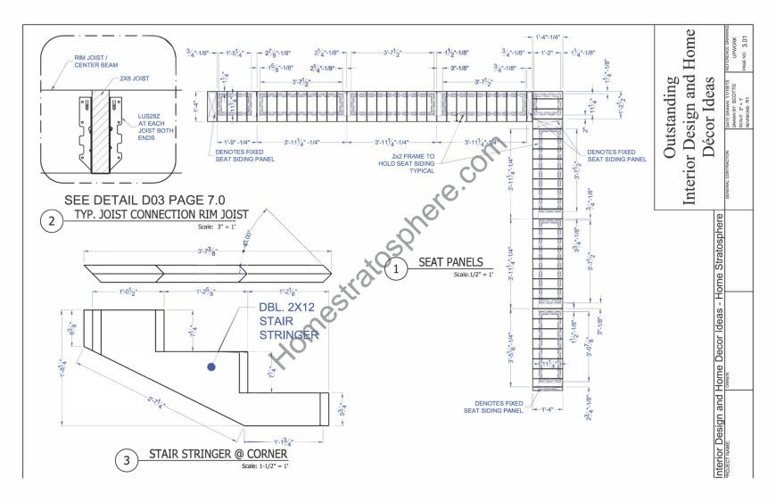 Deck Plan With Built In Benches For Seating And Storage Deck Plans Patio Deck Designs Built In Bench