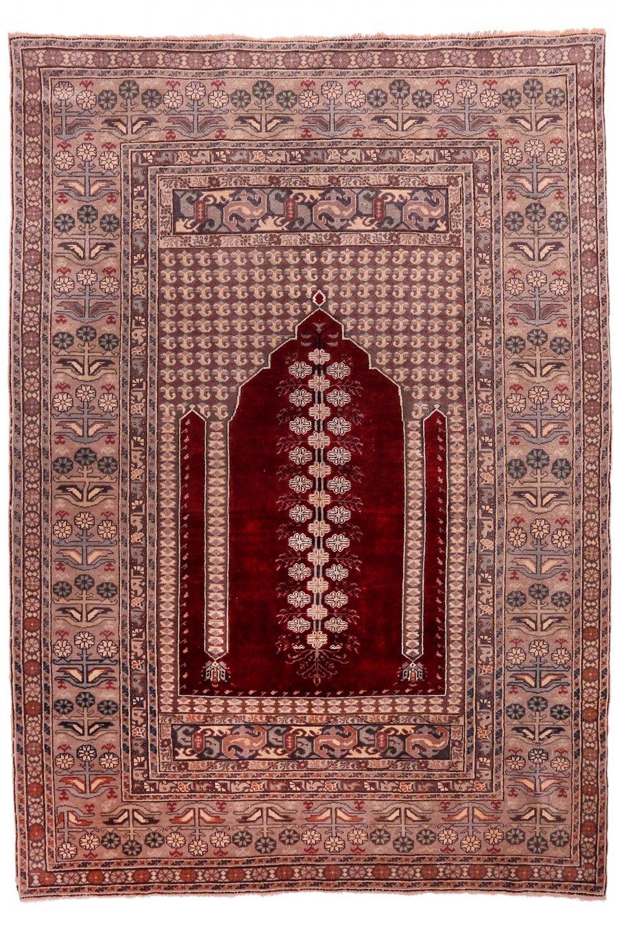 Bandirma Prayer Carpet Boutique Carpets Oriental Rugs Textiles In Cappadocia Origin Turkey Bandirma Age 80 90 Years Materi Halilar Antika Turkiye