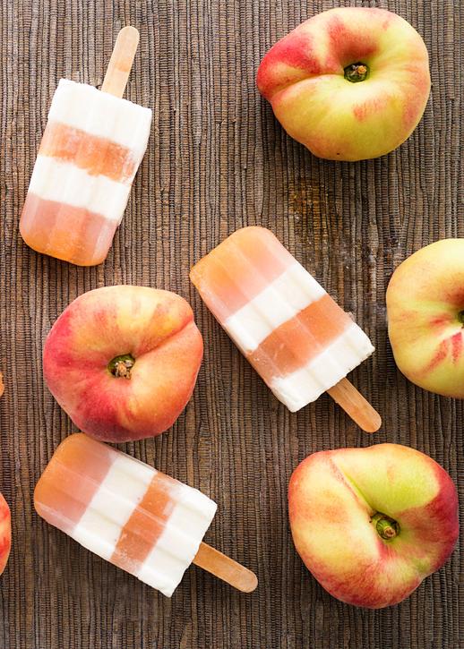 Eats // Peaches and Cream Pops