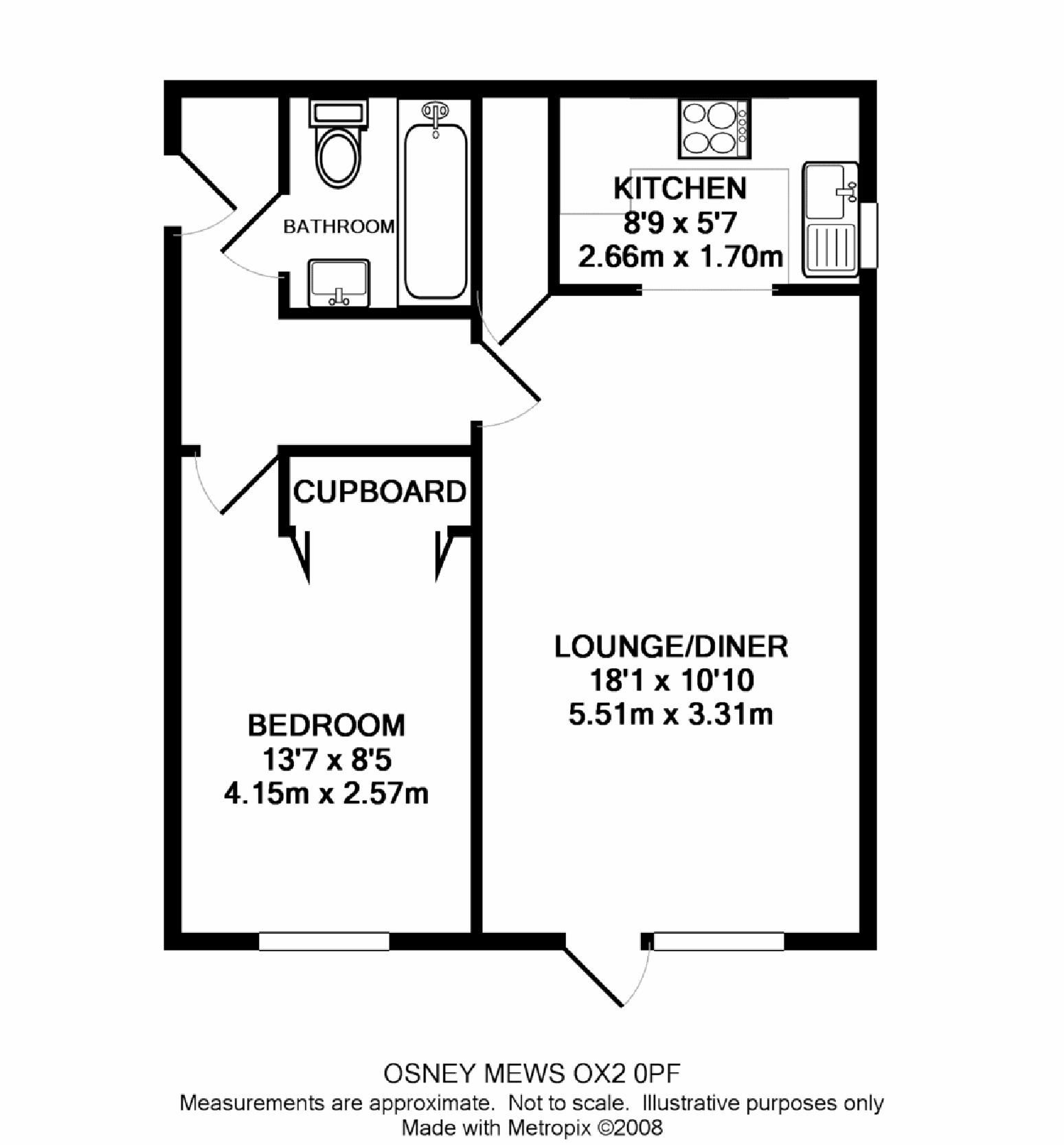 Ordinaire 1 Bed Flat Floor Plans   Google Search