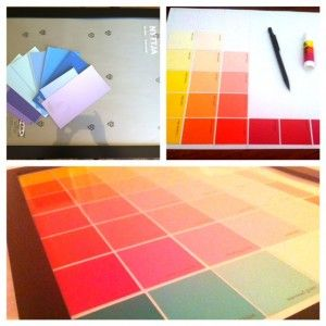 Easy Diy Calendar Ideas  Dry Erase Calendar Craft And Paint