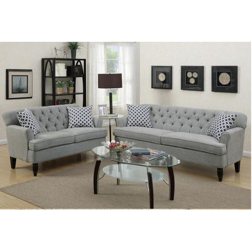 found it at wayfair angel sofa and loveseat set comes in slate rh pinterest com