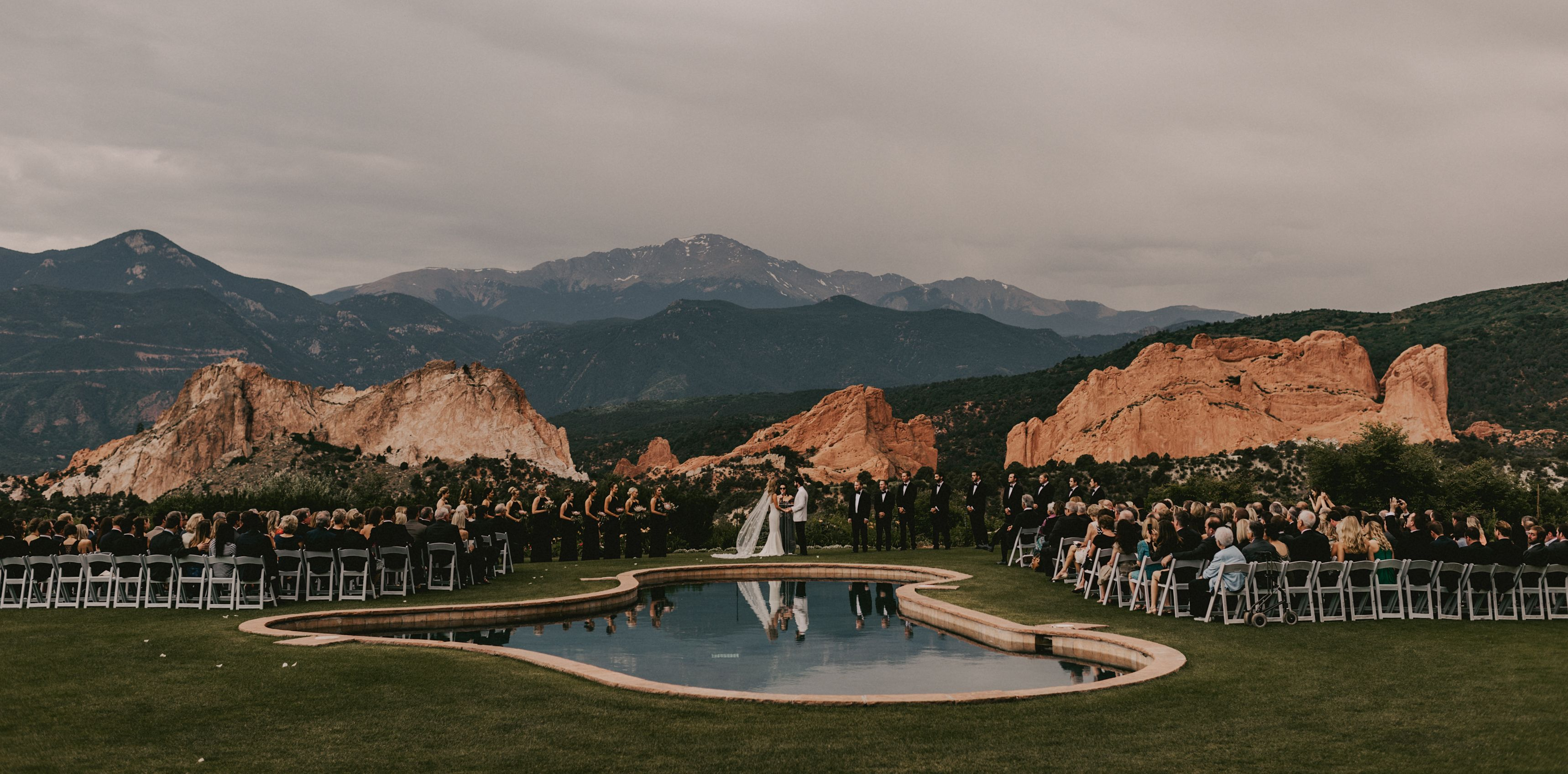 wedding at the garden of the gods club resort