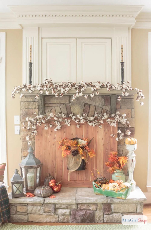 48+ Fireplace mantel fall decorating ideas information