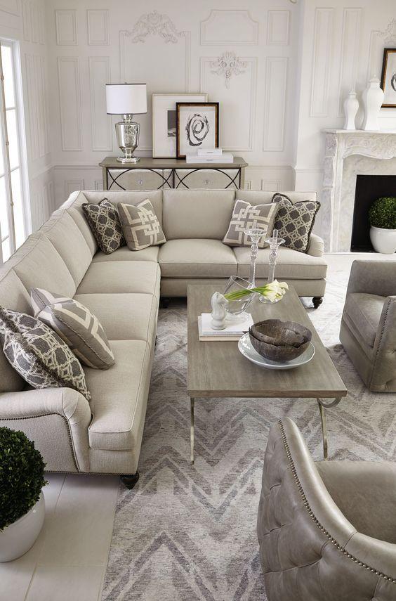 marquesa palazzo signature seating living room bernhardt home rh pinterest com