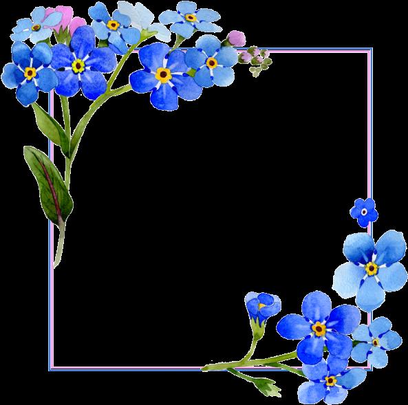 Download And Share Clipart About Flores Acuarela Cover Vector Frame Gratis Png Y Psd Marcos De Flores En Png Find More Imagem De Igreja Agendas Ilustracoes