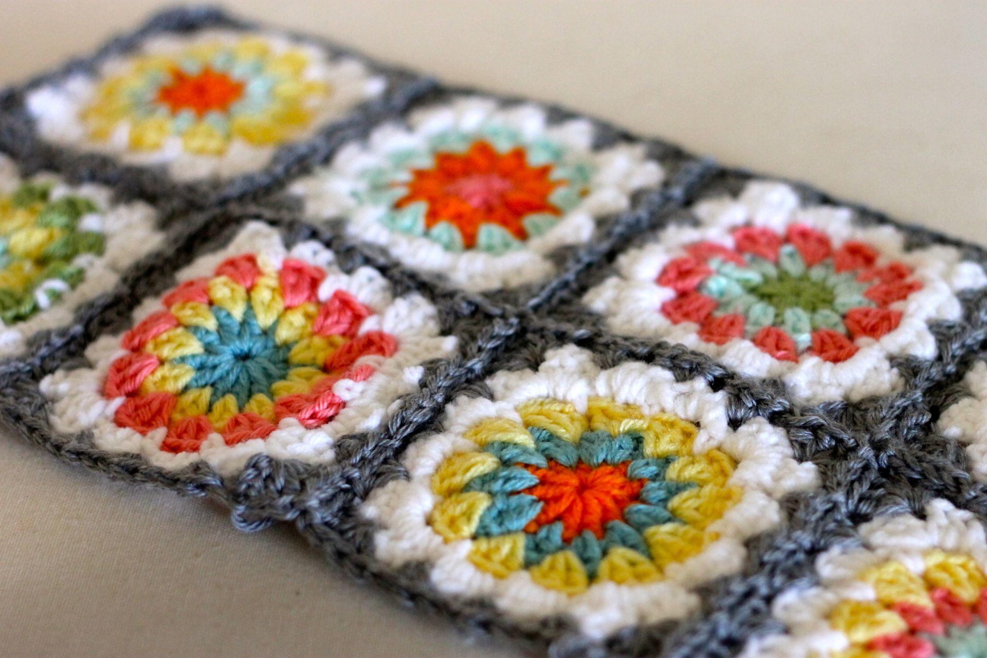 crochet | Me + Three {and counting | Granny Square Obsession ...