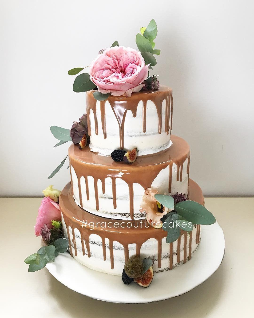Drip Wedding Cakes: 42 Unique Cake Ideas For Your Wedding