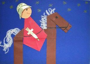 Sankt Martin #sanktmartinbasteln