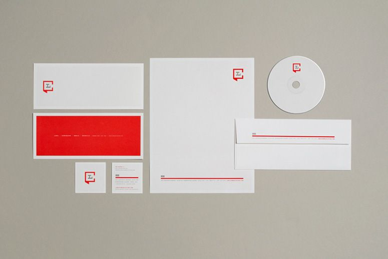 Lewis Communications Identity + Stationery