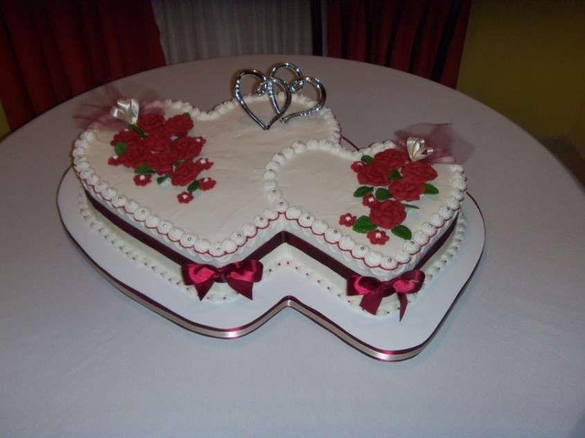 Torte Nuziali A Forma Di Cuore Torta Doppia A Cuore Torte