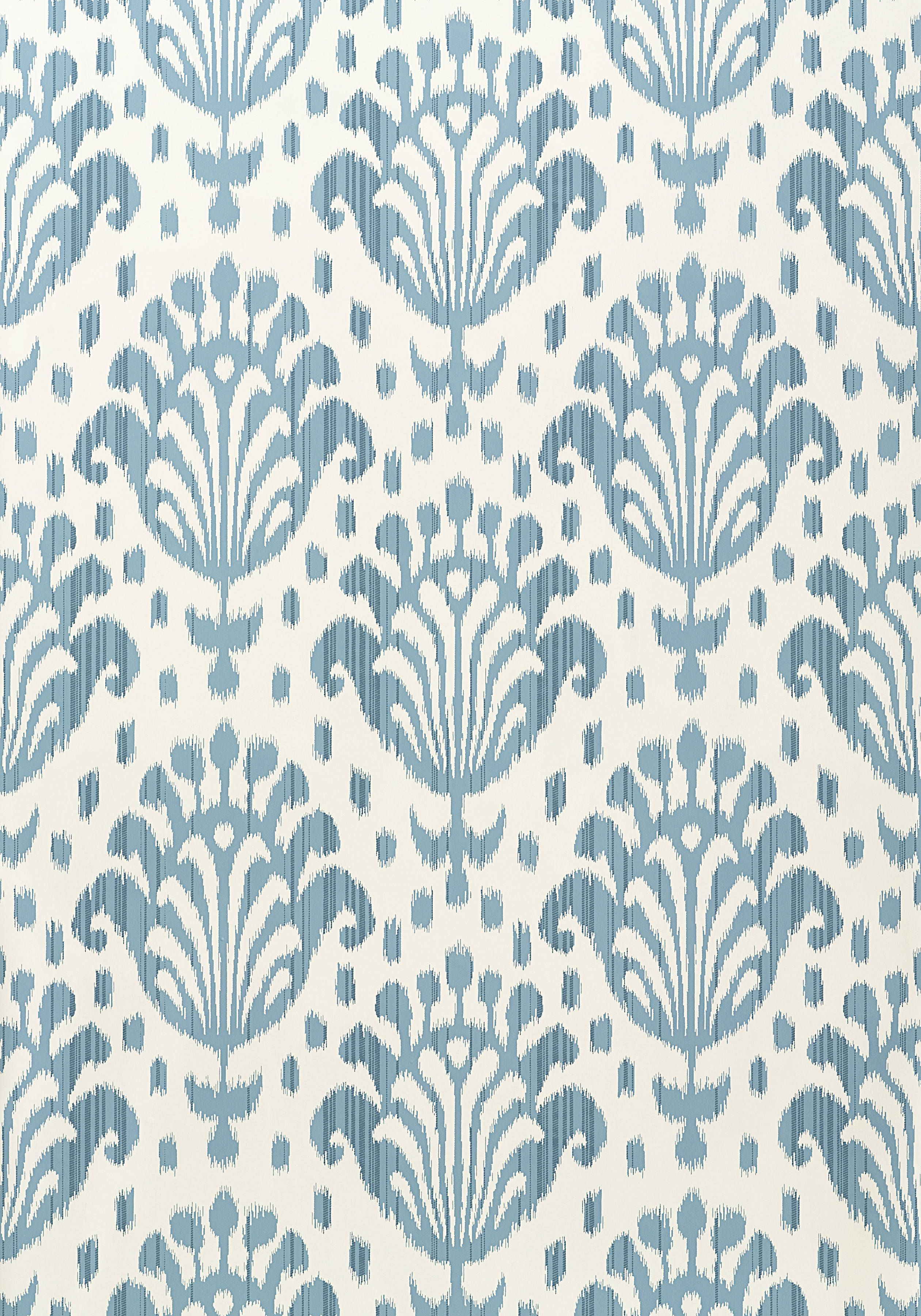 THAI IKAT, Light Blue, T4949, Collection Jubilee from Thibaut ...