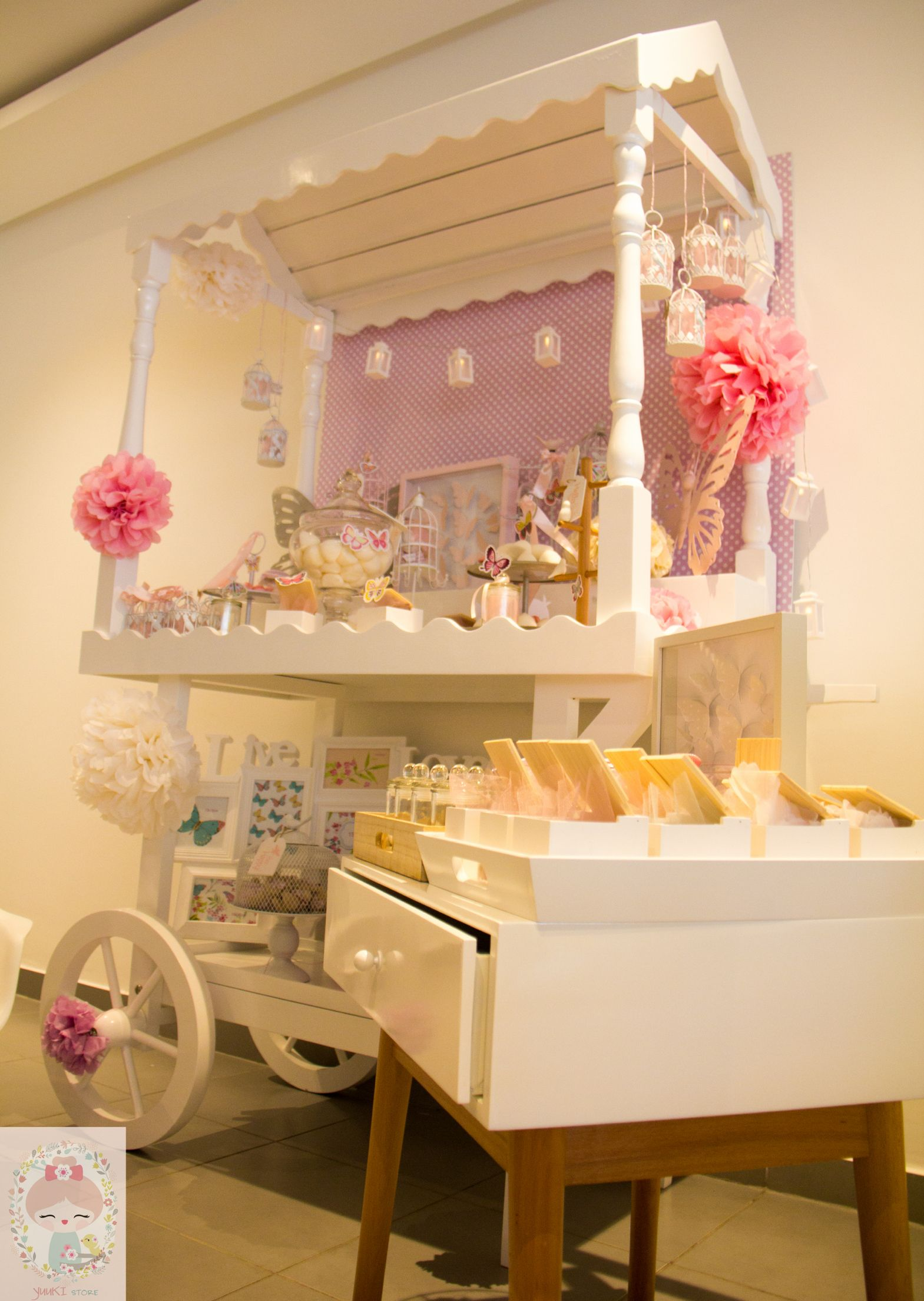 Buffet Naissance Baby Shower Baby Girl Decoration