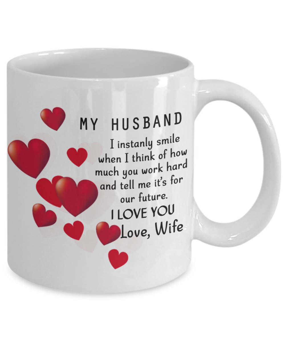 To My Husband Coffee Mug For Husband Husband Coffee Mug Best Gifts For Husband Birthday Gifts For Husband Husband And Wife Coffee Mug To My Husband Coffee Best Gift For Husband