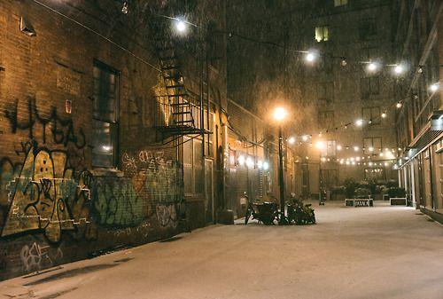 New York City - Snow at Night - Hercules