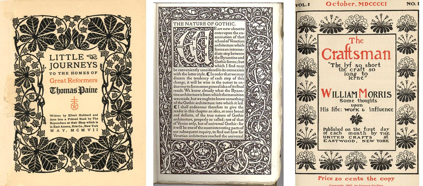 Arts Crafts American Style Arts And Crafts Arts And Crafts Movement William Morris Art