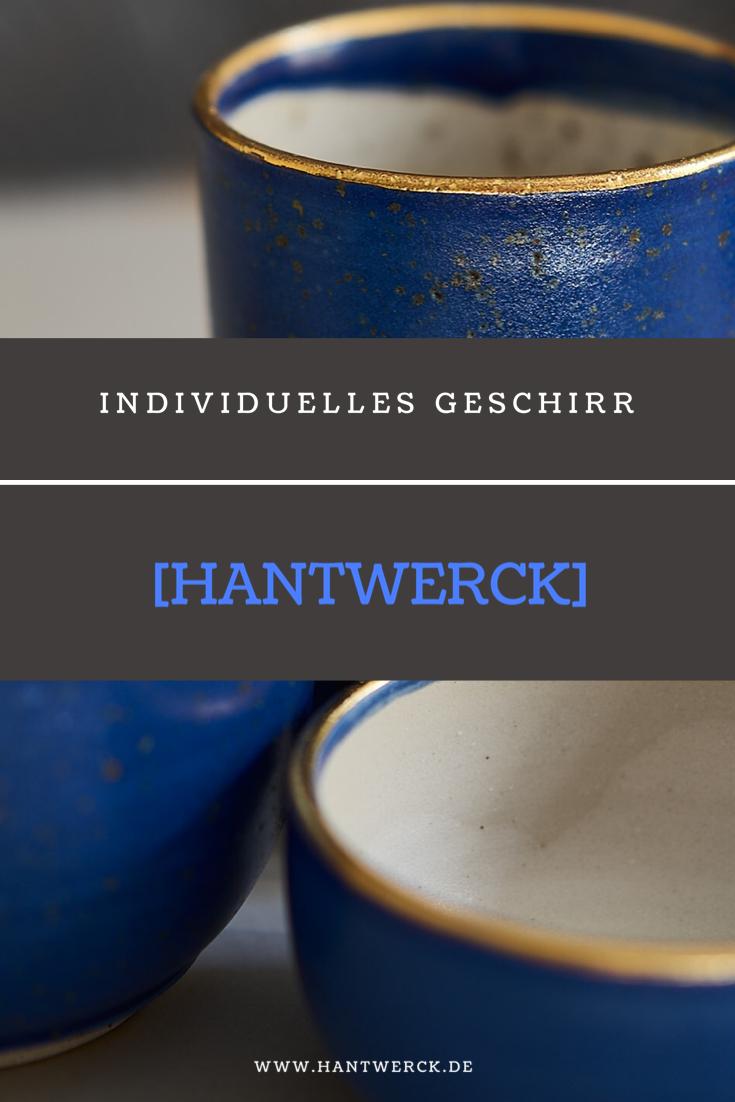 100 Hantwerck Aus Regensburg Geschirr Blaue Keramik Becher