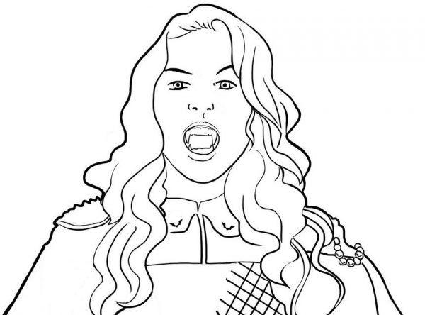 Coloriage Chica Vampiro Coloring Page Chica Vampiro