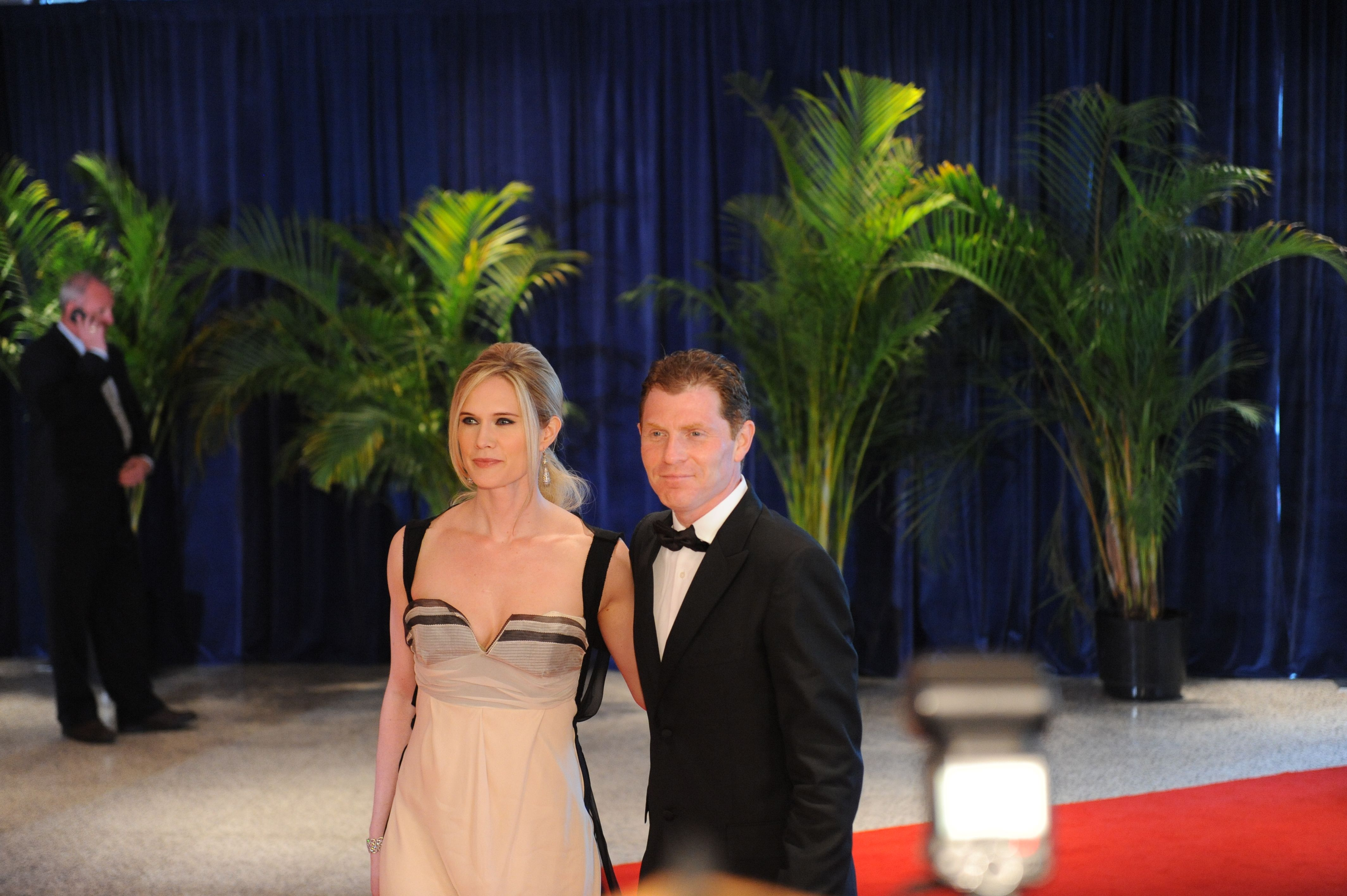 Chef Bobby Flay and wife actress Stephanie March, WHCD