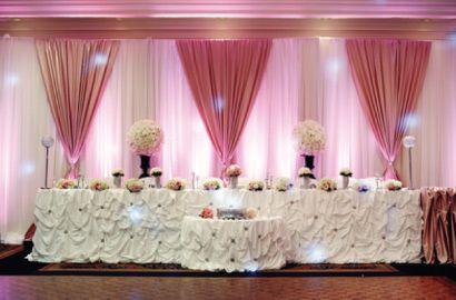 Light pink and gray wedding head table backdrop by twig floral light pink and gray wedding head table backdrop by twig floral designs carbondale illinois twig designs jonathan reiman designer pinterest junglespirit Choice Image