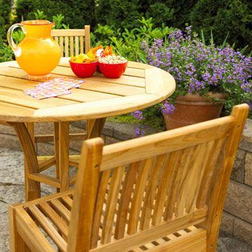 Elegant Patio Furniture Buying Guide. Top ListTeakTropicalPatio