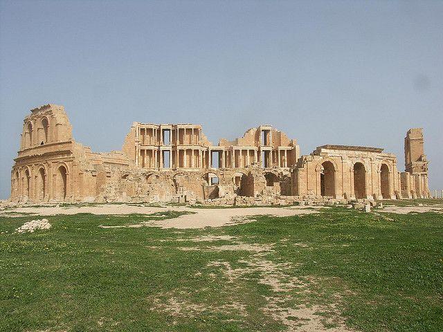 Roman theater at Sabratha