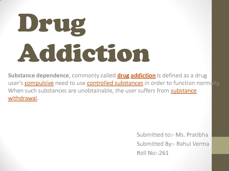 drug addiction and it's definition   addiction   pinterest