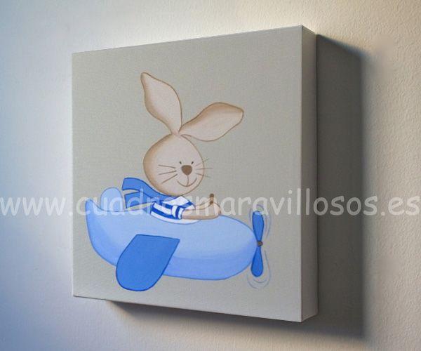 Madrid arte cuadros infantiles cuadros bebes y for Cuadros habitacion bebe