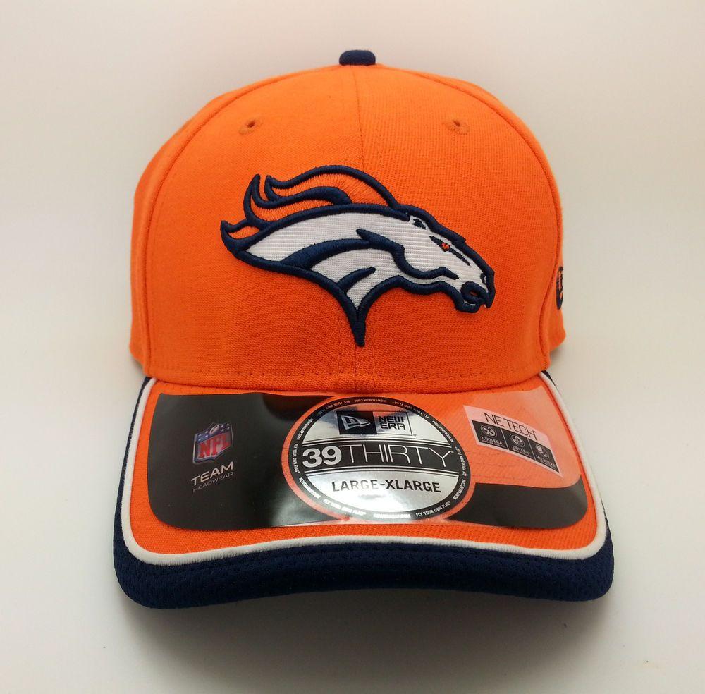 Denver broncos nfl new era 39thirty onfield hatcap