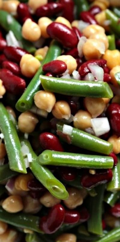 Favorite Three Bean Salad Country Cleaver Bean Salad Recipes Bean Salad Three Bean Salad