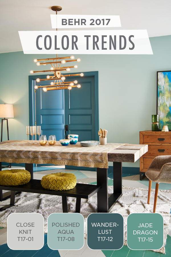Aqua Paint Colors we're simply swooning over this chic color combination of close