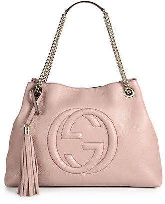 87e5aa777 Gucci Soho Leather Shoulder Bag Bolsa De Ombro De Corrente, Cadeia De Couro,  Louis