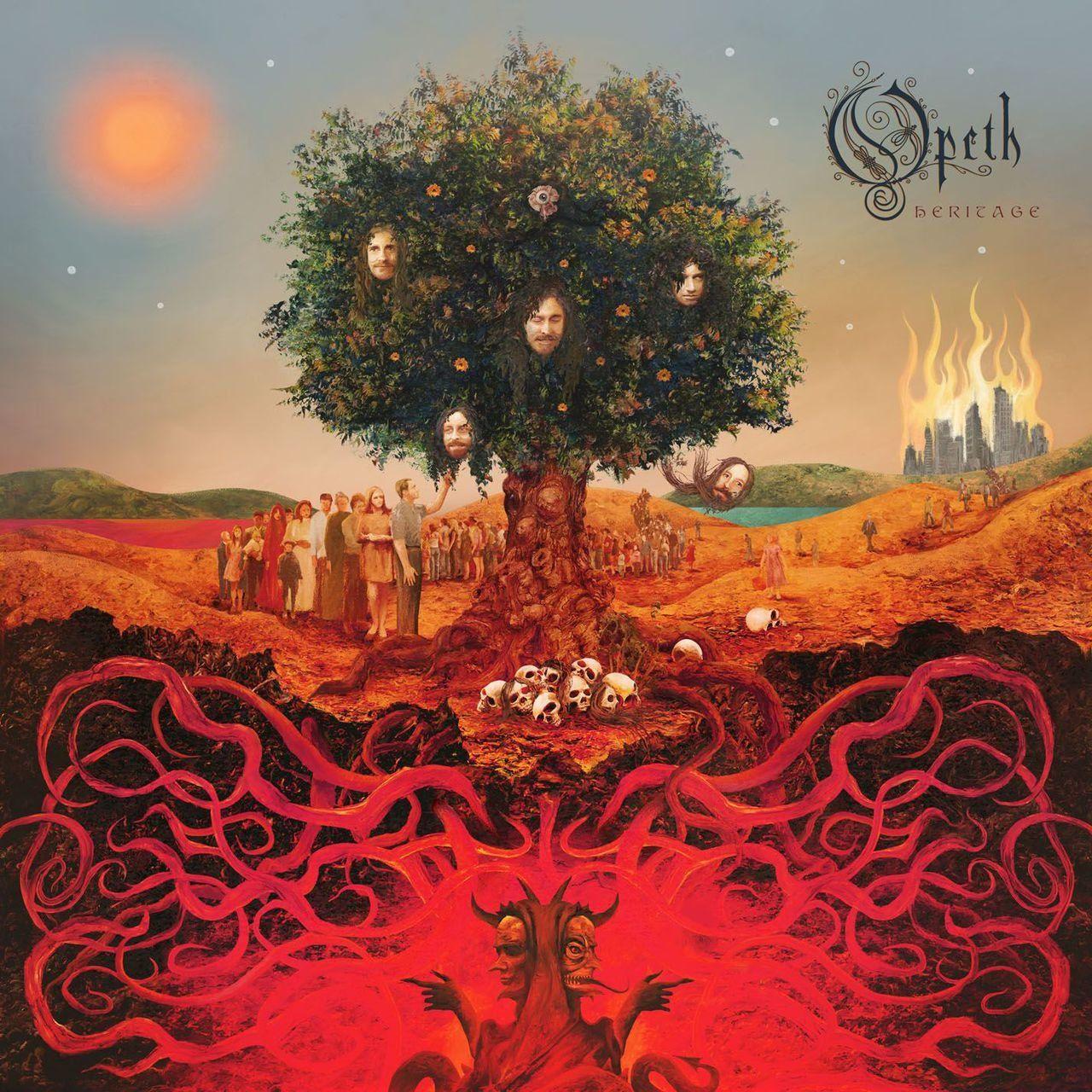 Opeth Heritage Album Cover Art Music Album Covers Album Art