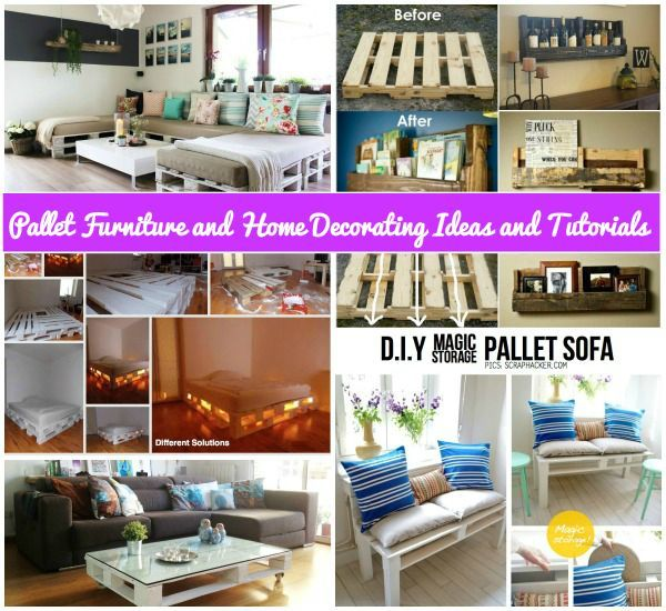 Diy pallet home decorating and furniture projects diy do it diy pallet home decorating and furniture projects diy do it yourself ideas solutioingenieria Gallery