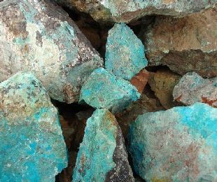 Raw Turquoise From Mines In The Southwest Usa Raw Turquoise