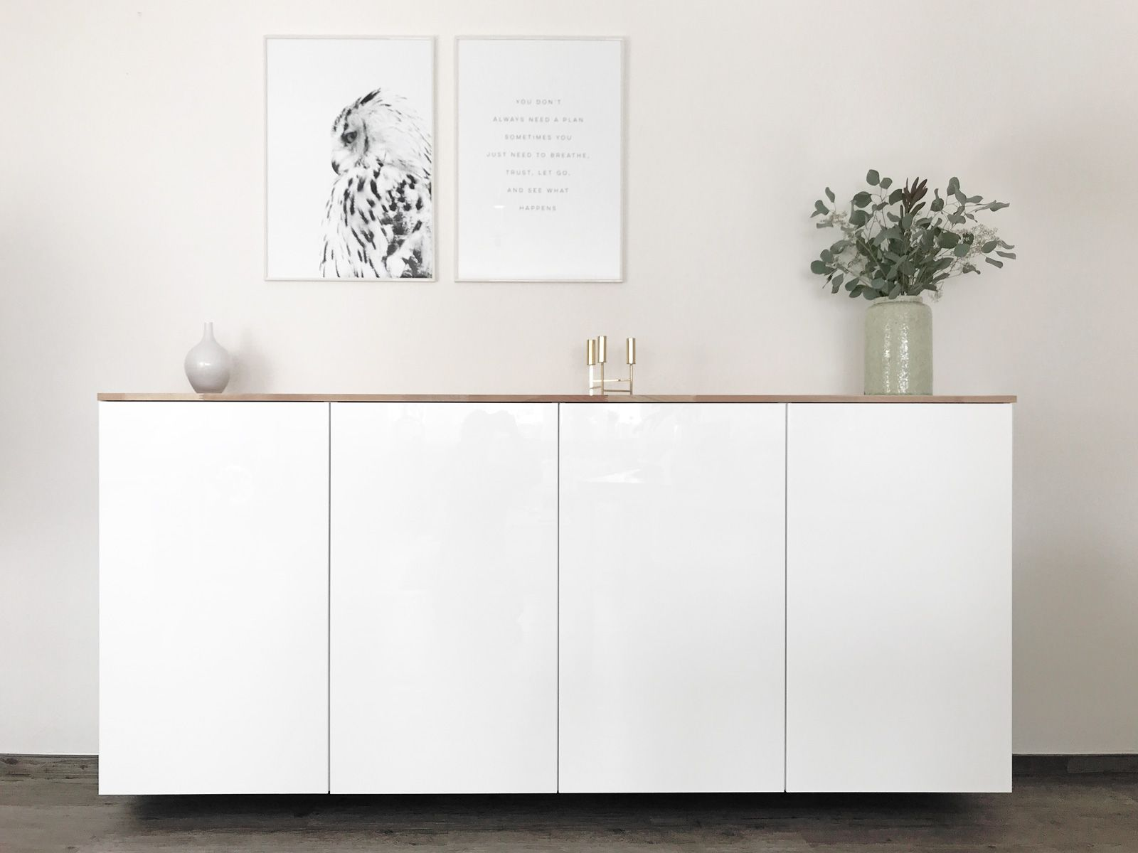 Ikea Hack – Metod Küchenschrank als Sideboard ⋆ elfenweiss * create something beautiful