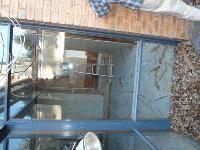 Windows: cedar framed window