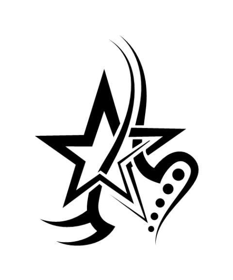 tatouage tribal etoile femme | tatoos | design