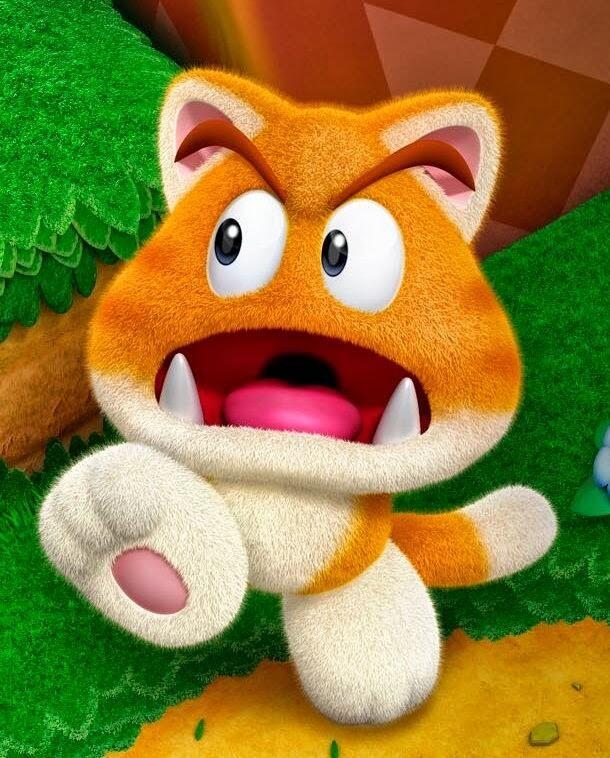 Kitty Goomba - Super Mario 3D World   Super Mario