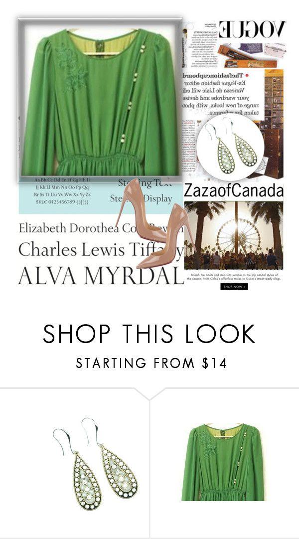Zazaofcanada 1 By Julyete Liked On Polyvore Featuring Tiffany Co A Ta C Swim Retra Christian Louboutin And Vintage