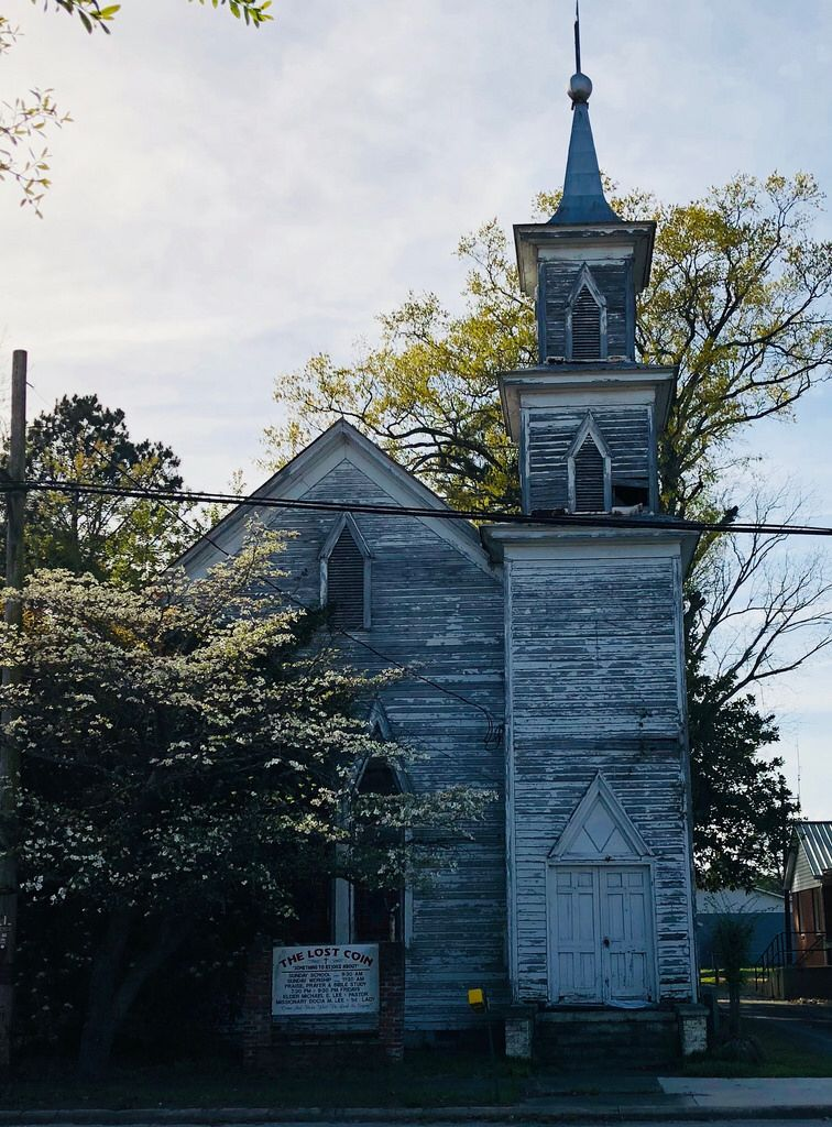 Abandoned Church. Trenton, North Carolina. Paul Chandler