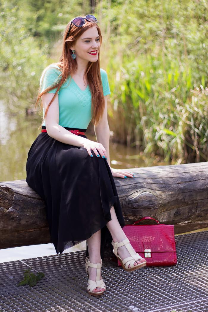 Color Clash Outfit - Retro Sonja  047e9320f9249